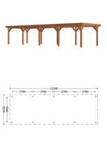 Trendhout | Buitenverblijf Siena 12200 mm | C1