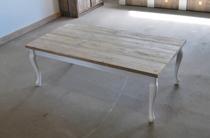 DutchWood | Tafel met krulpoten | 150 x 100