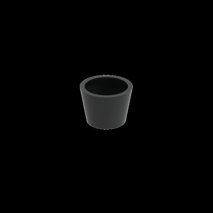 Adezz | Aluminium bloembak Cairo | Ø80 x 60 cm