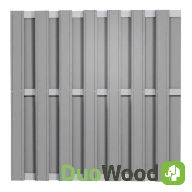 DuoWood | Alu-Line 180x180 cm | Riviera