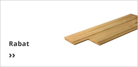 rabat tuin hout