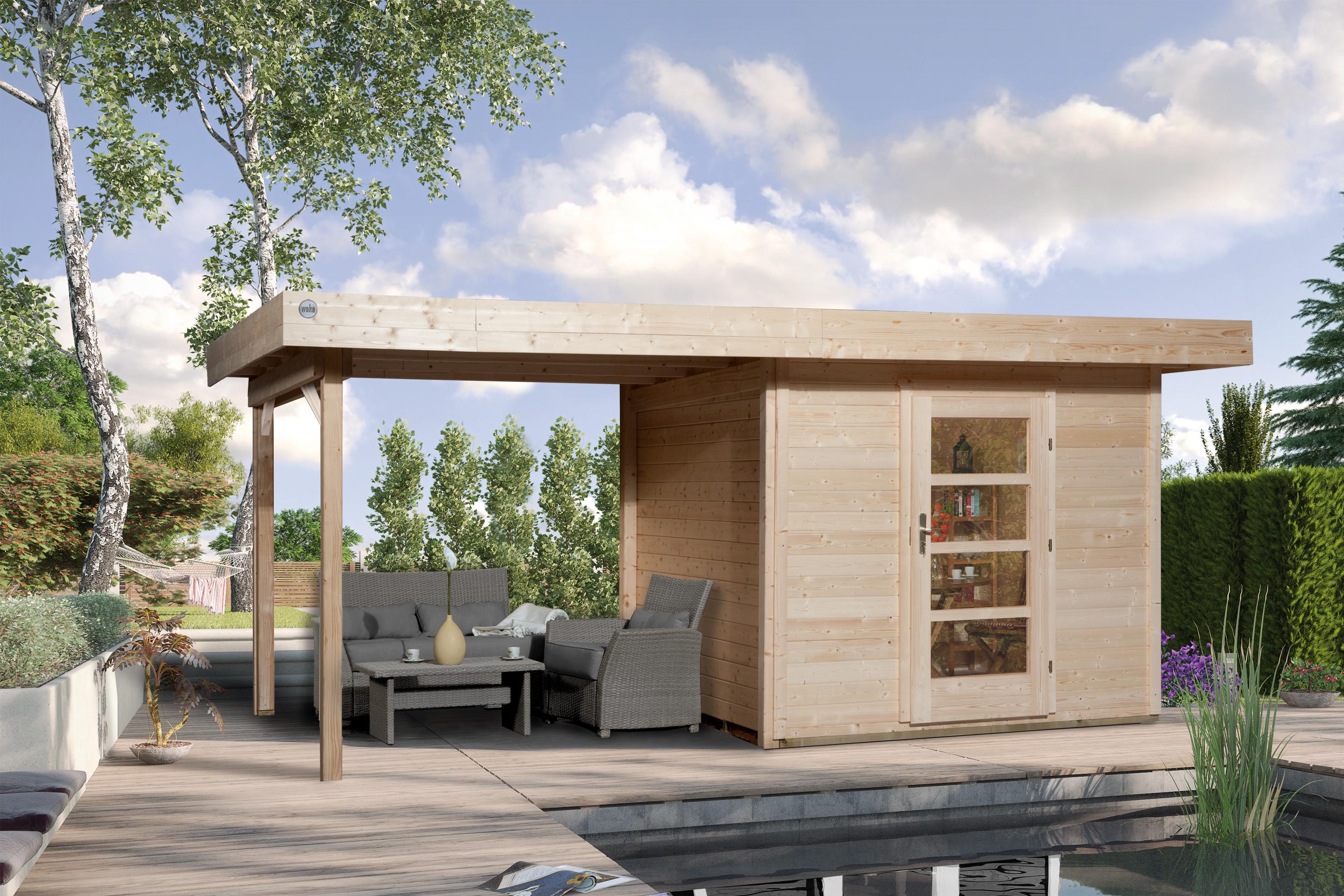 Blokhut | Designhuis 172B Gr.2 | 530 x 300 | WEKA