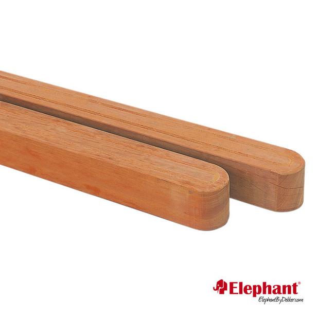 Elephant | Afgeronde luxe paal | 11x11 cm | 180 cm