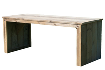 DutchWood | Tafel dichte zijkant | 250 x 100
