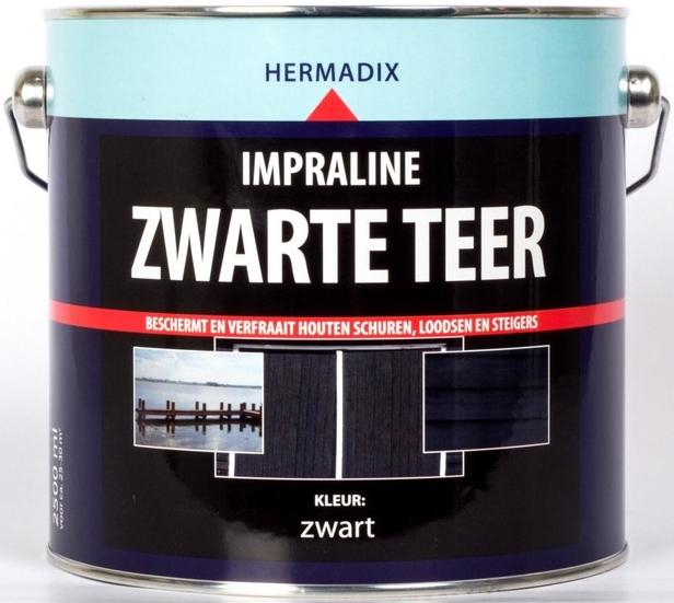 Hermadix | Impraline Zwarte Teer | 2,5 L