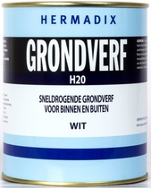 Hermadix | Grondverf H20 Wit | 750 ml