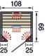 WEKA | Infraroodcabine Tanilla 1 | 108 x 99 cm
