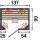 WEKA | Infraroodcabine Tanilla 2 | 137 x 99 cm