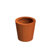 Adezz | Cortenstalen plantenbak Cado | Ø60 x 60 cm