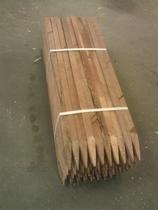 Hardhouten piketpaal gepunt | 20x30  50cm