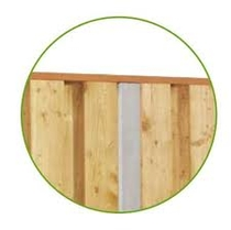 Lichtgewicht beton | Hardhout bovenregel 400cm