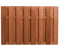 Westwood | Tuinscherm Bangkirai | verticaal | 130cm