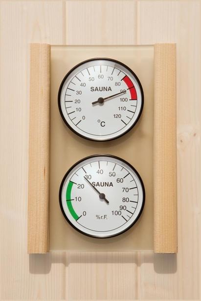 WEKA   Set hygrometer en thermometer