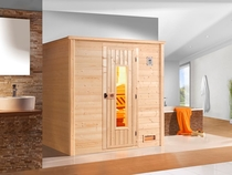WEKA | Sauna Bergen 1 HT | 198 x 148 cm