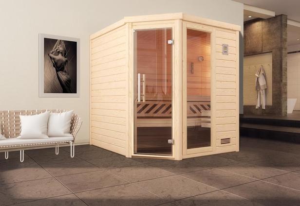 WEKA   Sauna Turku 2 GTF   195 x 195 cm