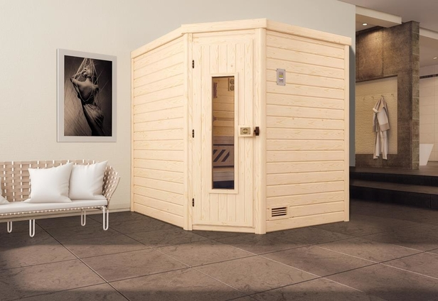 WEKA   Sauna Turku 2 HT   195 x 195 cm