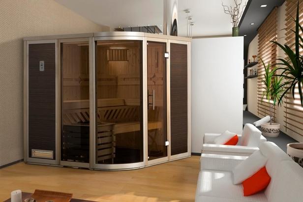 WEKA | Comfort- en designsauna Fintura 1