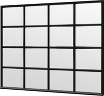 Trendhout | Steel Look raam module C-04 | 276x220 cm
