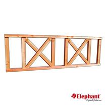 Elephant | Balustrade kruis | 70x272 cm