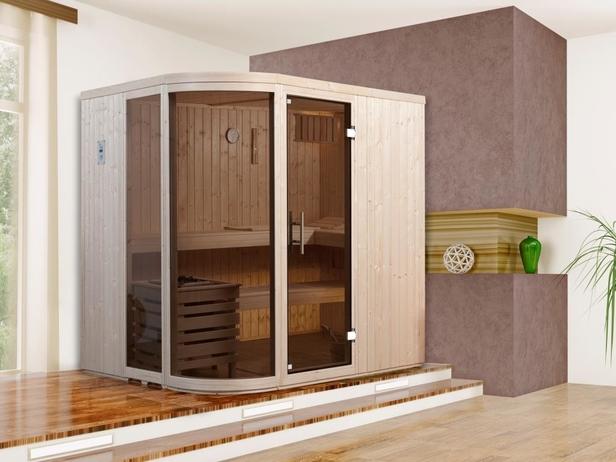 WEKA | Comfort- en designsauna Sara 1