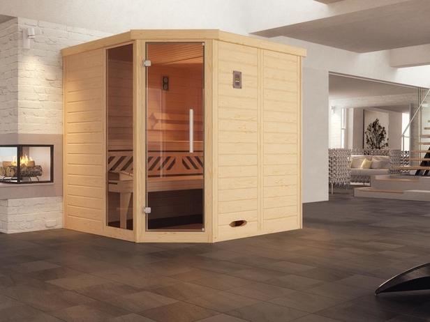 WEKA | Comfort- en designsauna Kemi 1 met raamelement