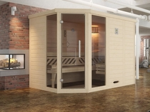 WEKA | Comfort- en designsauna Kemi 2 met raamelementen