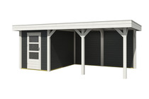 Outdoor Life Products | Outdoor Living 6030/20 Extra | Carbon Grey | 588 x 304