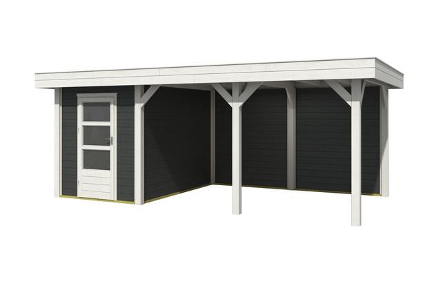Nubuiten | Outdoor Living 6030/20 Extra | Carbon Grey | 588 x 304