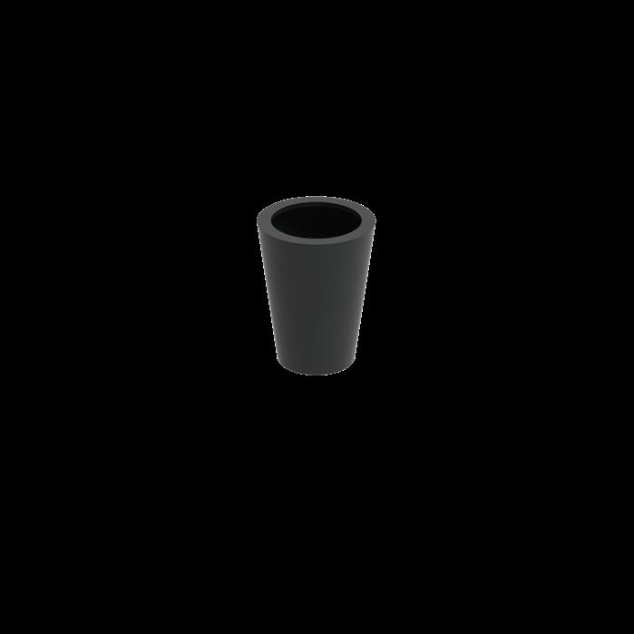 Adezz | Aluminium bloembak Cairo | Ø60 x 80 cm