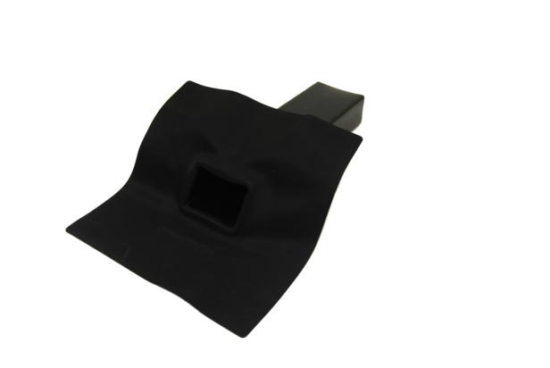 Tytane   EPDM Hemelwaterafvoer 60 x 80 mm   45 Graden