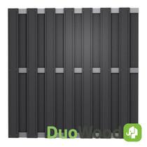 DuoWood | Alu-line 180x180 cm | Lava