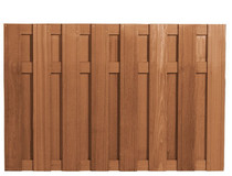 Westwood | Tuinscherm Bangkirai | 15-planks | 130cm