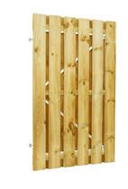 Plankendeur grenen | verstelbaar frame | 120 x 190 cm