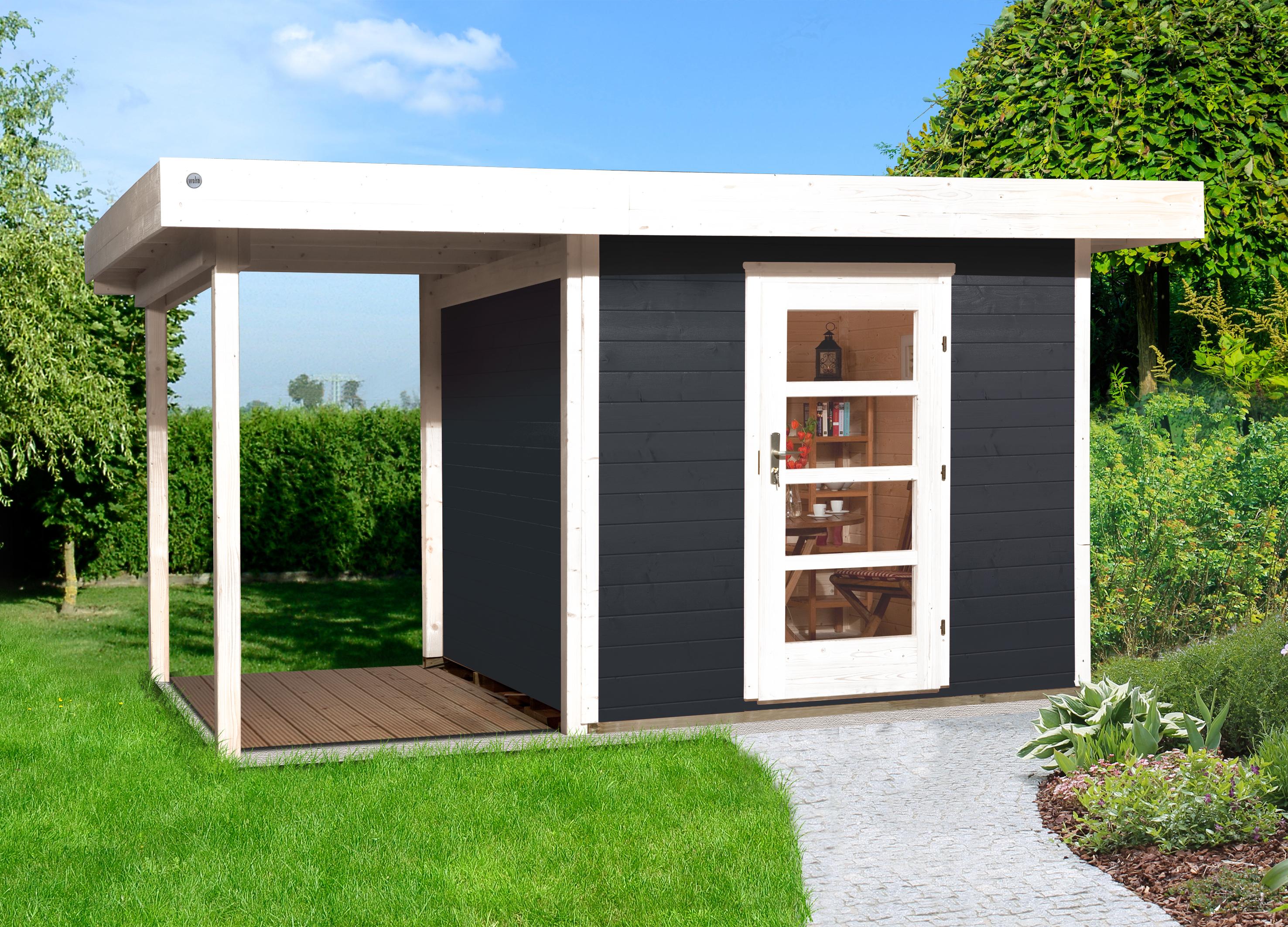 Blokhut | Designhuis 172A Gr.1 | 385 x 240 | Antraciet
