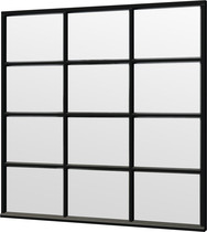 Trendhout | Steel Look raam module H-04 | 223x220 cm