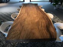 Suar boomstam tafelblad |  100 x 300 cm