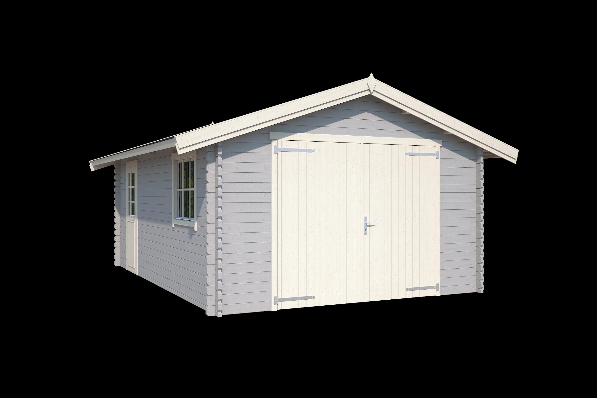 Nubuiten | Garage Yarik | Platinum Grey | 560x400 cm