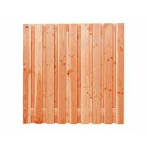Carpgarant | Scherm Douglas Geschaafd | 19-planks | 180 x 180 cm