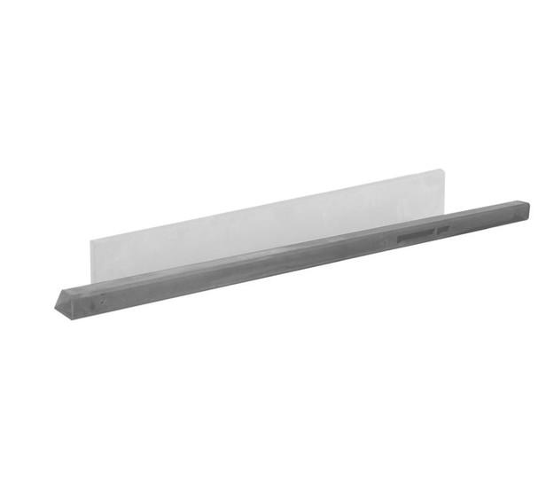 Beton tussenpaal | Glad | Grijs | 180 cm (scherm 90/100 cm)