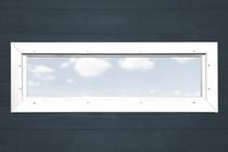 WEKA | Extra enkel raam smal | 40x125 cm | Wit