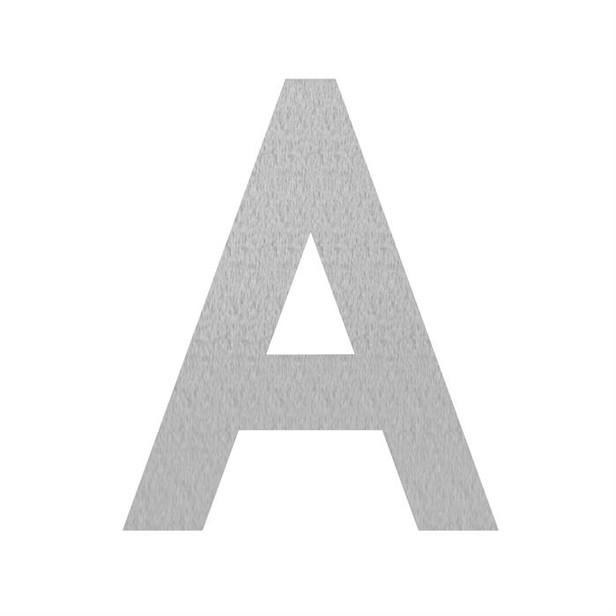 Adezz | Brievenbusletter A | RVS