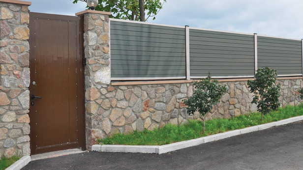 Exterior living | Tuinpoort Curtis 100x120 | smalle planken