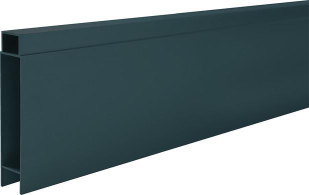IdeAL | Antraciet Tand- en Groefprofiel voor aluminium Scherm | 400 cm