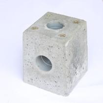 Westwood | Betonpoer 12x12 tbv alumunium overkapping | Met HWA-afvoer