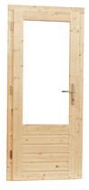 Enkele deur 1-ruits/3-ruits met 5-punts sluiting
