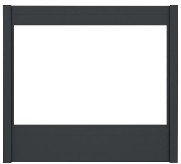 IdeAL | Basisset Scherm Antraciet 9 planks | 180x180