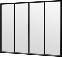 Trendhout | Steel Look raam module C-01 | 276x220 cm