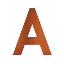 Adezz | Brievenbusletter A | CorTenstaal
