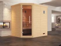 WEKA | Sauna Kemi 1 GT | 195 x 195 cm