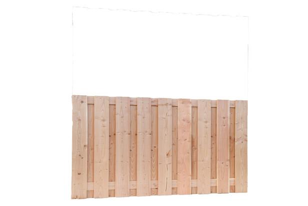 Carpgarant | Scherm Douglas geschaafd | 19-planks | 90 x 180 cm
